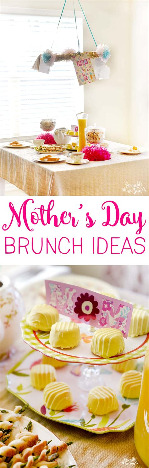 Brunch Ideas For S Day S Day Brunch Ideas Sprinkle Some