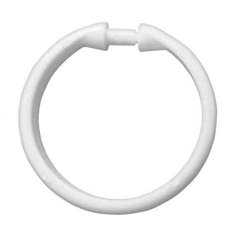 round curtain rings white round shower curtain rings at victorian plumbnig uk