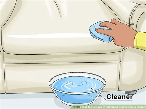 removing blood stains from couch how to remove dried blood stains from a couch 15 steps