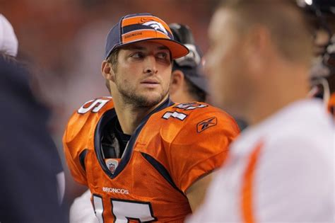 tim tebow bench why tim tebow is right where he belongs broncotalk