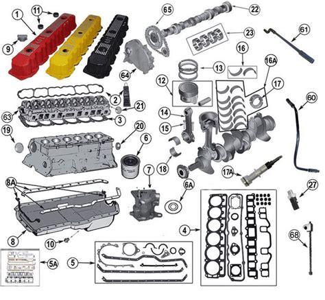 Jeep Tj Parts Interactive Diagram Jeep Tj Engine Parts 4 0 Liter
