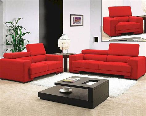 red fabric sofa red fabric sofa set 44l0909