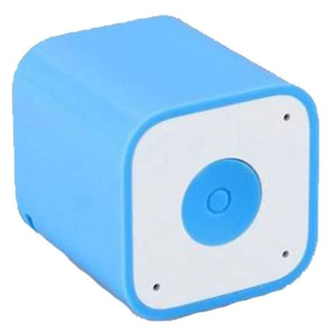 Smart Box Bluetooth Speaker With Wireless Shuter Anti Lost Alert Function smart box bluetooth speaker with wireless shuter anti lost alert function blue