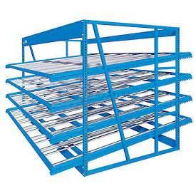 flow rack shelving bulk rack flow rack quikpik 174 gravity flow racks