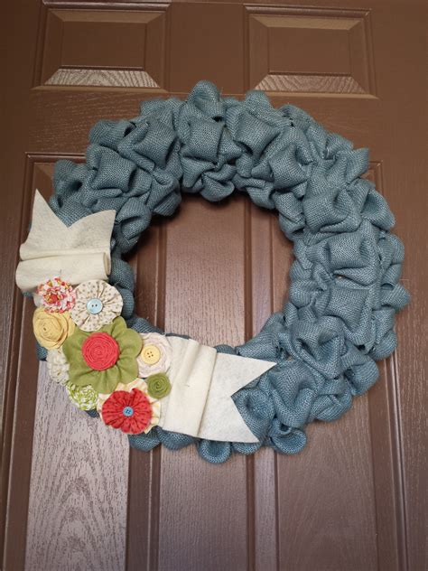 wreaths crafts projects burlap wreath craft ideas