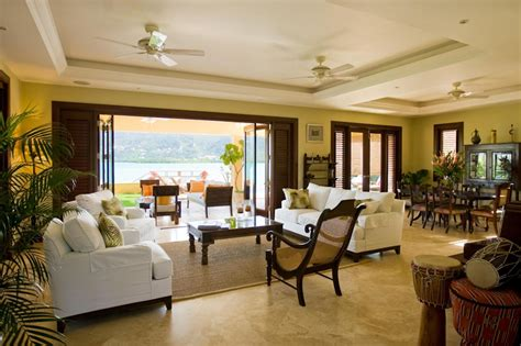british colonial furniture Living Room Tropical with
