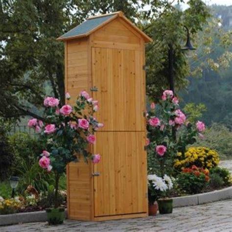 armadio per terrazzo armadio in legno da esterno porta attrezzi per giardino e