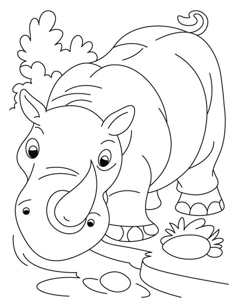 rhino coloring page world rhino day fight for rhinos