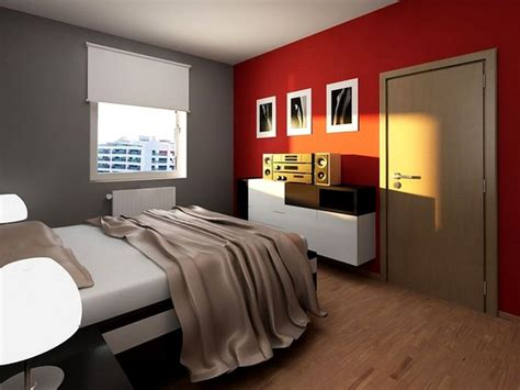 cool red wall painted color bedroom with awesome decorating red grey and red bedroom rectangular green sectional rug light
