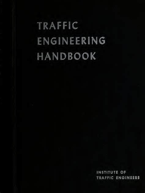 Traffic Engineering Handbook 7ed traffic engineering handbook 540 pgs docshare tips
