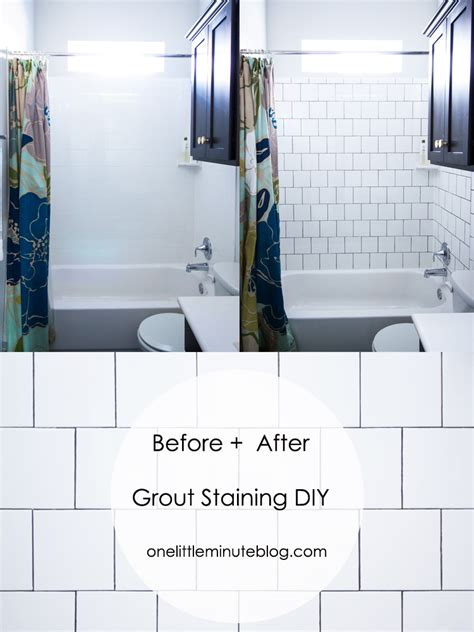 Bathroom Grout Touch Up Staining Tile Grout Diy Live Free Creative Co