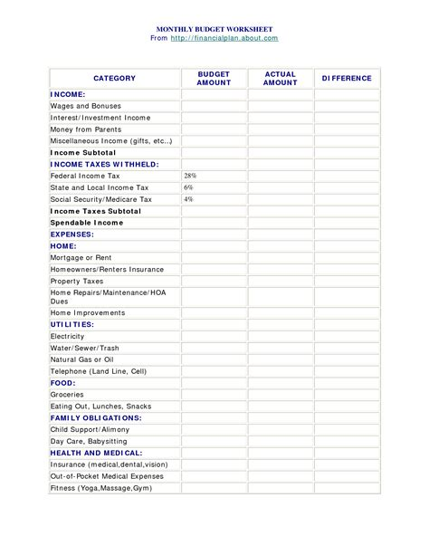 suze orman budget template suze orman budget template 28 images suze orman budget