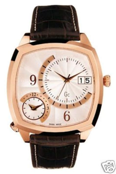 Guess Gc Time Brown guess collection gc gold 2 time zone 25502g2