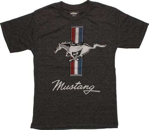 T Shirt Mustang ford mustang emblem youth t shirt