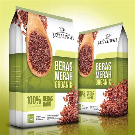 Beras Organik Untuk Diet Beras Merah gallery desain kemasan untuk beras merah organik