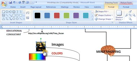 microsoft diagram tool how to build a mind map in microsoft word master update
