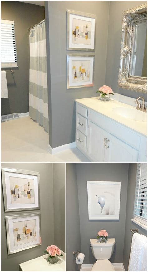 decorating ideas for bathroom walls 10 creative diy bathroom wall decor ideas