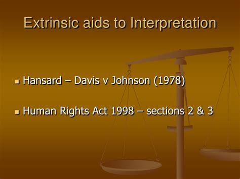 section 4 human rights act 1998 statutory interpretation 4