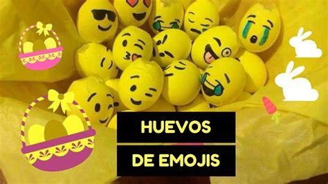 huevos decorados de emojis decora huevos de pascua f 193 cil y sencillo emojis youtube
