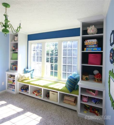 window seat bookshelf awesome playroom built in window seat and bookshelf