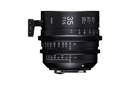 Sigma 24mm T1 5 Ff High Speed Prime Ef Mount sigma cine high speed prime line objektiv 35mm t1 5 ff sigma photo at
