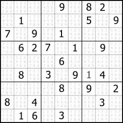 Sudoku completed puzzle presents printable killer sudoku sheet of