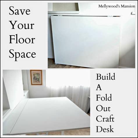 Fold Out Desk Diy Think Pink Monday Mel From Mellywood S Mansion Thrifty Rebel Vintage