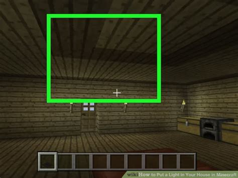 how to put lights on house how to put a light in your house in minecraft 5 steps