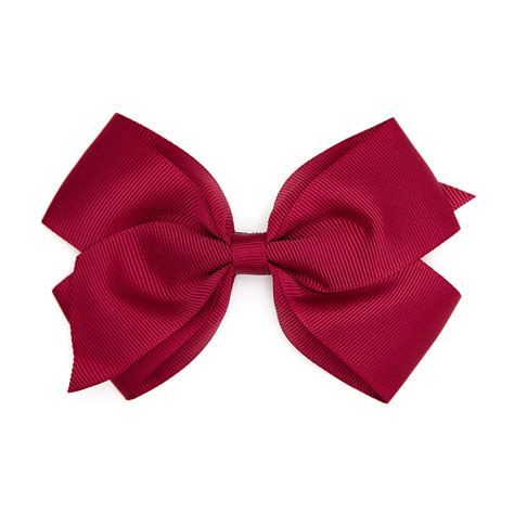 Bows Are Big by Big Bow Clip Burgundy