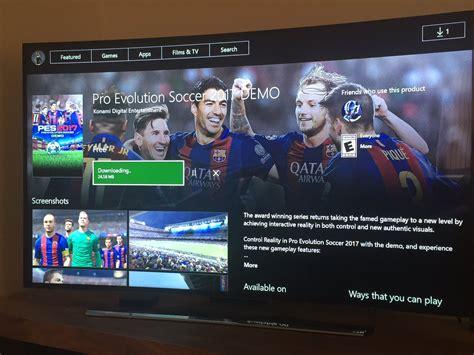 Xbox One Original Pes 2017 pes 2017 demo details teams and links pes patch
