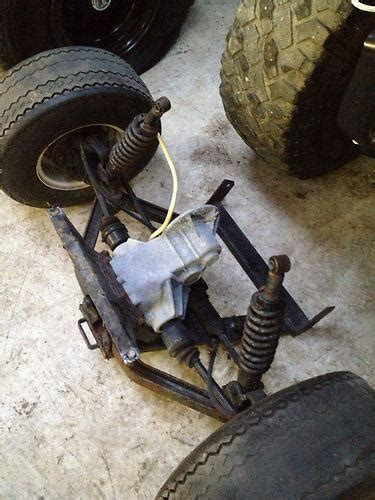 purchase gem car front suspension and differental with