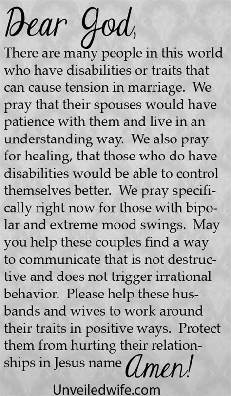 my husband has mood swings prayer of the day married to a bipolar spouse