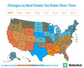 Cheapest Property In Usa 2016 S Property Taxes By State Wallethub 174