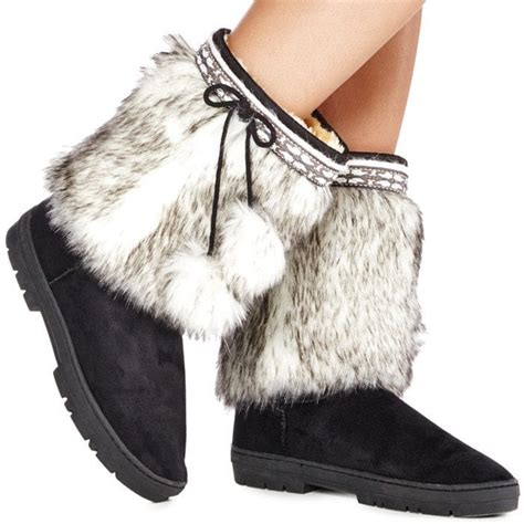 fuzzy winter boots fuzzy boots 28 images boots black pu leather metal