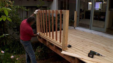 hagalo usted mismo como construir una terraza de madera