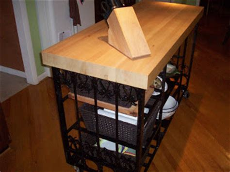 wrought iron kitchen island black salvage architectural antiques custom