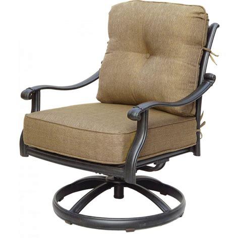 Furniture: Tommy Bahama Misty Garden Patio Swivel Rocker