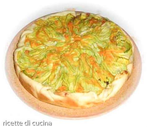 fiori zucchine ricette torta salata di zucchine con fiori ricette di cucina
