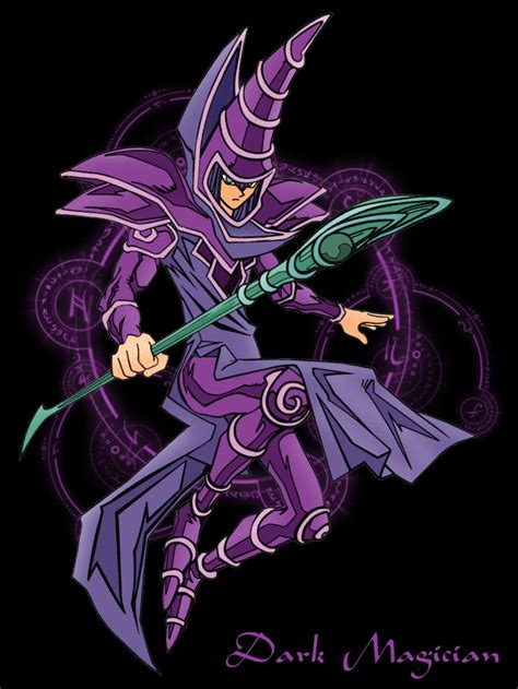 wallpaper dark magician dark magician from yu gi oh my favorite monster along