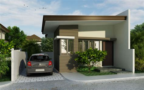 Small house design, PHD 2015007   Pinoy House Designs