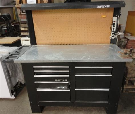 craftsman tool bench with drawers craftsman workbench with drawers images