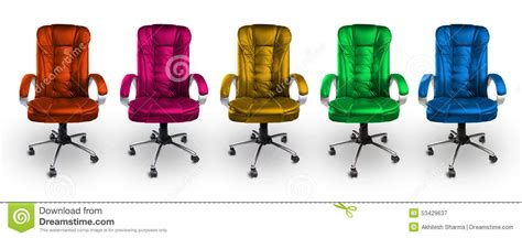 Colorful Office Leather Chairs Red Pink Yellow Green Colorful Desk Chairs