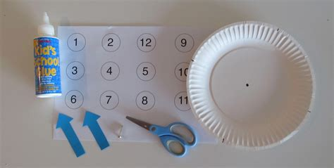 How To Make A Clock With Paper - a teaching clock boy