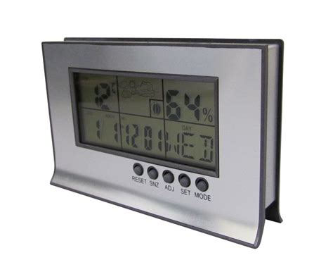 desktop clock date temperature alarm lcd digital display bnib ebay