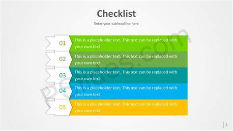 Free Checklist Powerpoint Template Powerpoint Checklist Template