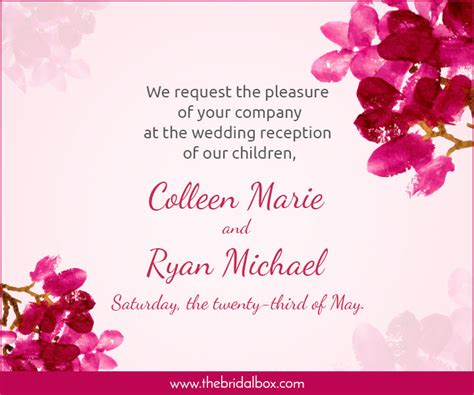Words For Wedding Invites by 50 Wedding Invitation Wording Ideas You Can Totally Use