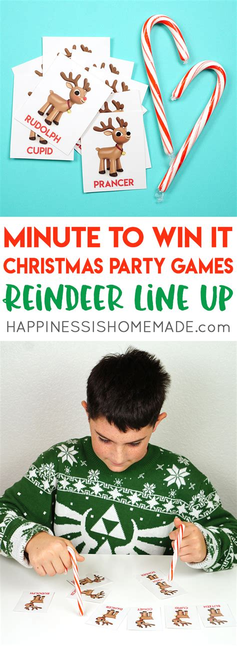 christmas minute to win it games happiness is homemade