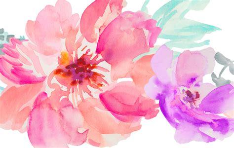 water color flower 48 painted watercolor flowers for premium members