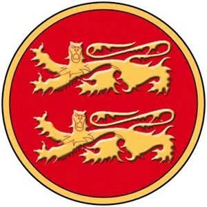 armoiries et drapeau normands