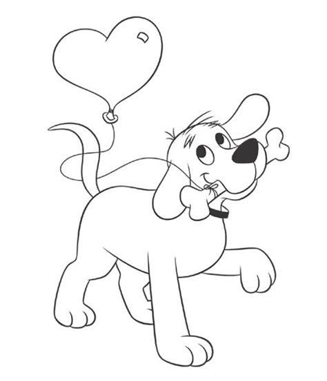 Printable Pictures Of Clifford The Big